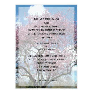 bride and groom's parents wedding invitation custom invitations