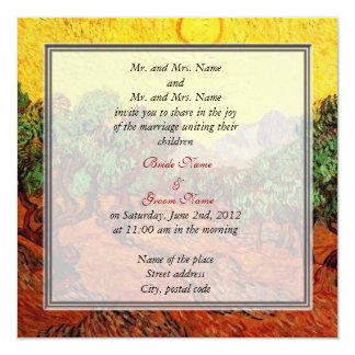 bride and groom's parents wedding invitation invitations