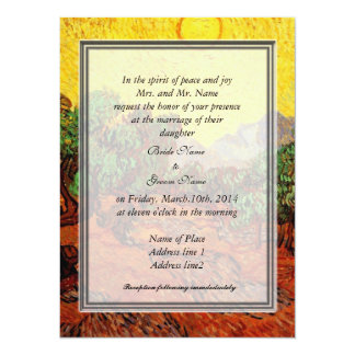 bride and groom's parents wedding invitation personalized invites