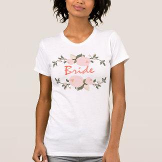 Bride bachelorette party T-shirt Floral