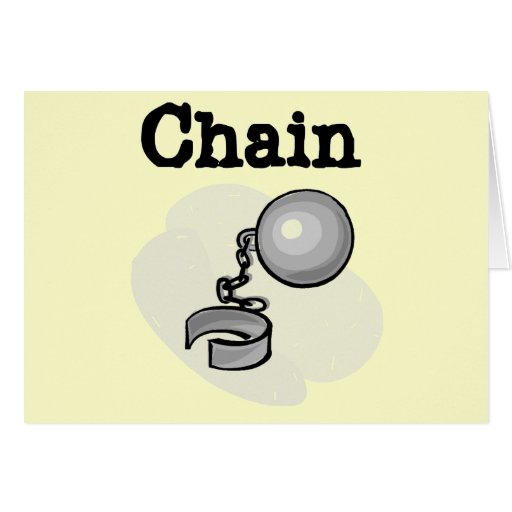 Bride Ball and Chain Tshirts and Gifts Greeting Cards