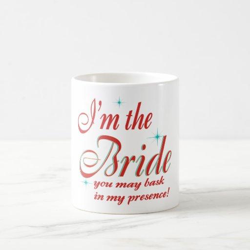 bride-bask in presence coffee mug