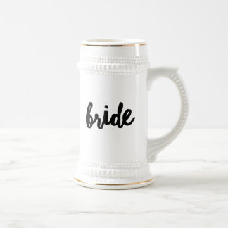 Bride Beer Stein