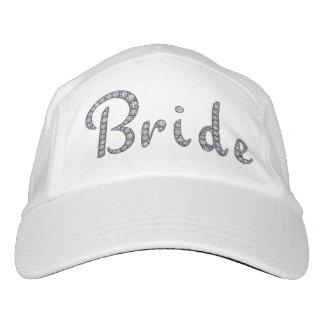 Bride bling hat