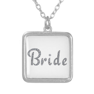 Bride bling necklace