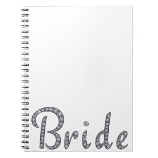 Bride bling notebook
