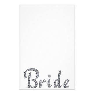 Bride bling stationery
