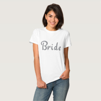 Bride bling T-shirt