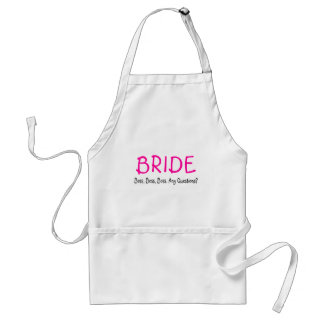 Bride (Boss) Adult Apron