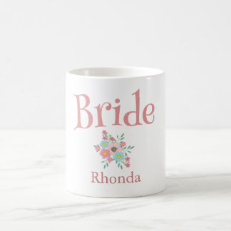 Bride Bouquet of flowers Coffee Mug