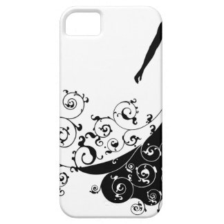 Bride Bouquet Wedding Silhouette Abstract iPhone 5 Covers