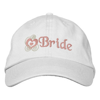 Bride Bridal Embroidery embroidered hats