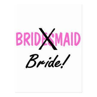 Bride Bridemaid Postcard