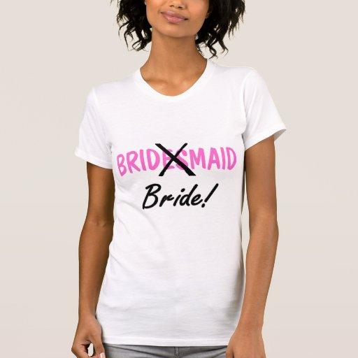 Bride Bridemaid Tshirt