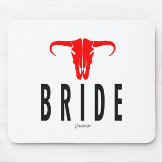 Bride & Bull by VIMAGO Design Mouse Pad