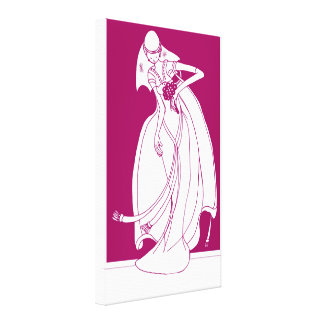 Bride Canvas Prints