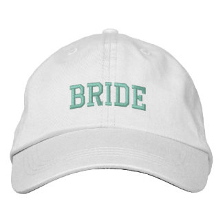 Bride! Cap Embroidered Hats
