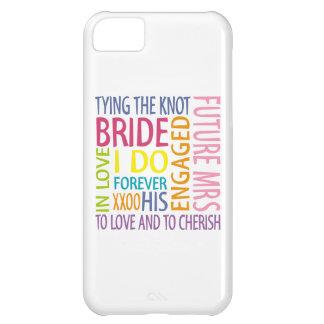 Bride iPhone 5C Cover