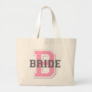 Bride Cheer Jumbo Tote Bag