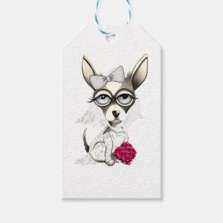Bride Chihuahua Gift Tags