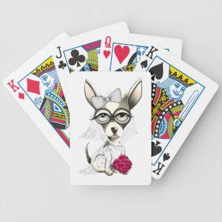 Bride Chihuahua Poker Deck