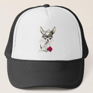 Bride Chihuahua Trucker Hat