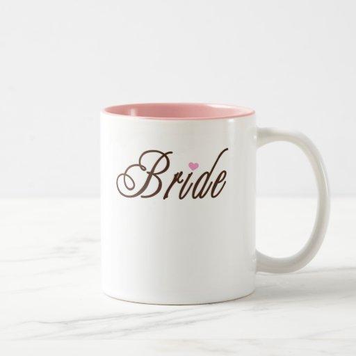 Bride Classy Browns Two-Tone Mug