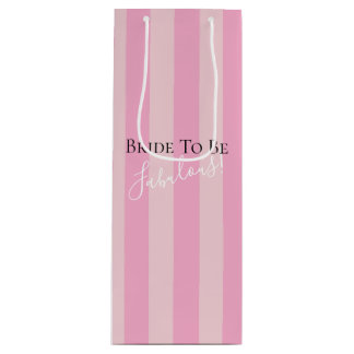 BRIDE & CO Bride To Be Fabulous Party Gift Bags