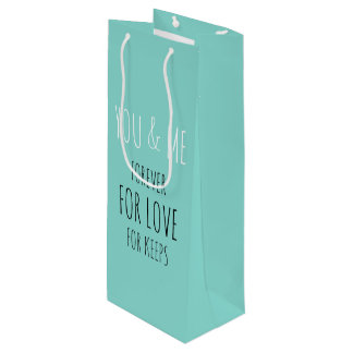 BRIDE & CO Forever You And Me Party Gift Bag