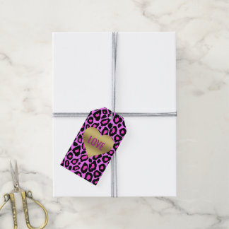 BRIDE & CO Gold Heart Love Party Gift Tags