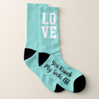 BRIDE & CO Knock My Socks Off Wedding Party Socks 1