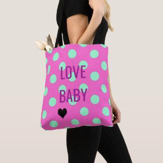 BRIDE & CO Love Polka Dots Party Tote Bag