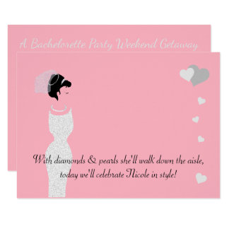 BRIDE & CO Pink Bride Party Invitation