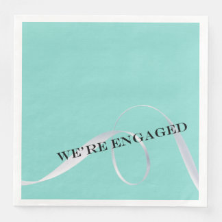 BRIDE & CO Ribbon Dinner Party Napkin Paper Napkin