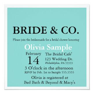 Bride & Co. Shower Invitation