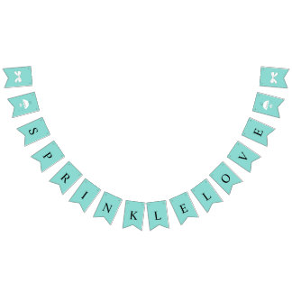 BRIDE & CO Sprinkle Love Party Bunting Banner