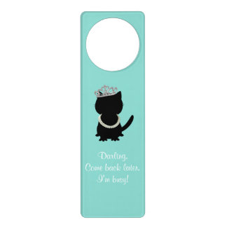 BRIDE & CO. Tiffany Tiara Cat Door Hanger