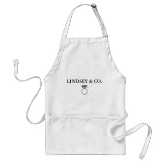 BRIDE & CO. Tiffany Wedding Ring Personalize Apron