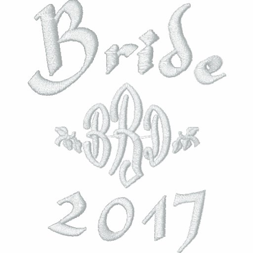 Bride Current Year - With Your Initials