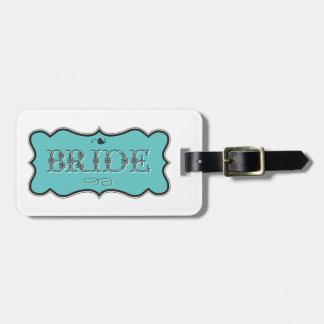 Bride Design 01 273f Luggage Tag