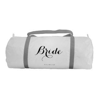 Bride Duffle Bag Gym Duffel Bag