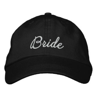 Bride Embroidered Cap