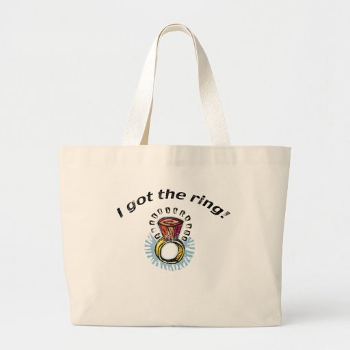 Bride Engagement Gifts and T-shirts Canvas Bag