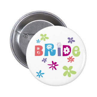 Bride Favors and Gifts 6 Cm Round Badge