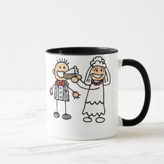Bride Feeds Groom Mug