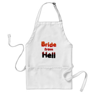 Bride from Hell Adult Apron