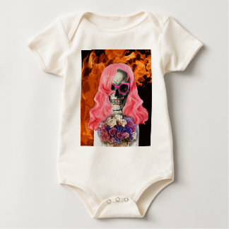 Bride from hell baby bodysuit