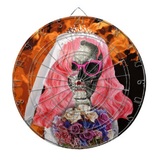 Bride from hell dartboard