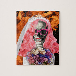 Bride from hell jigsaw puzzle
