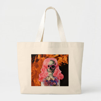 Bride from hell large tote bag